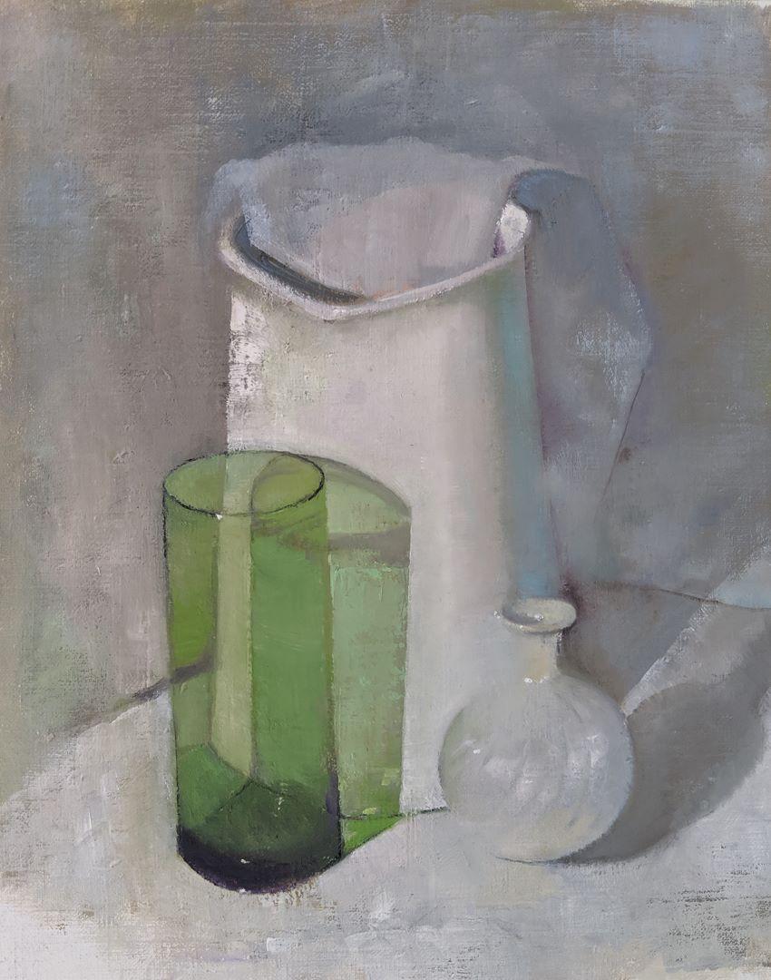 ירוק ולבן