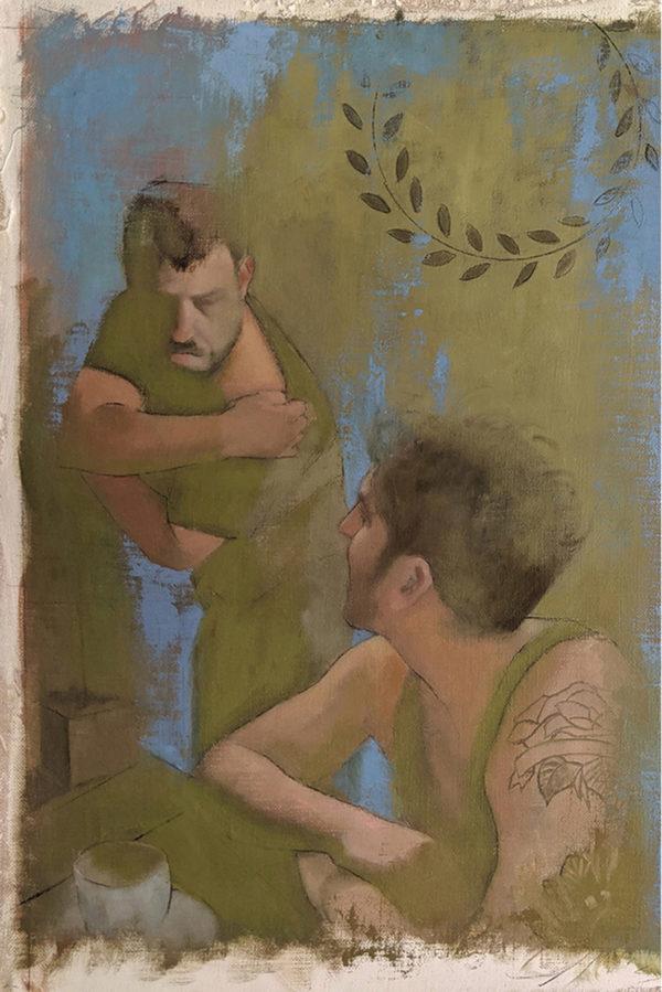 שני חיילים- דיפטיך