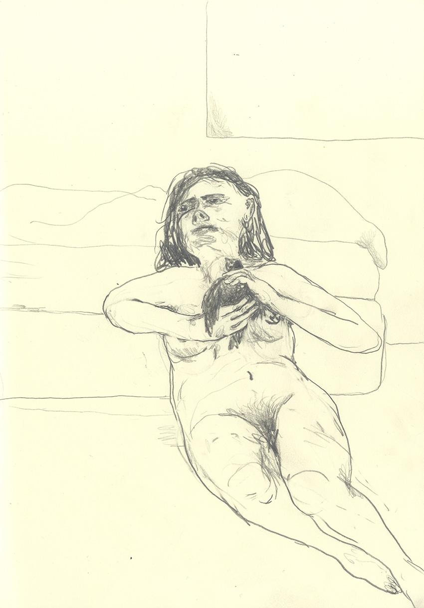 בחדר השינה