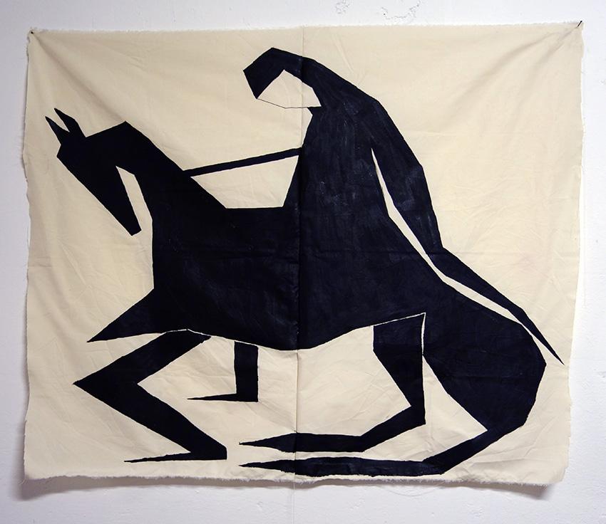 רוכבת הסוס