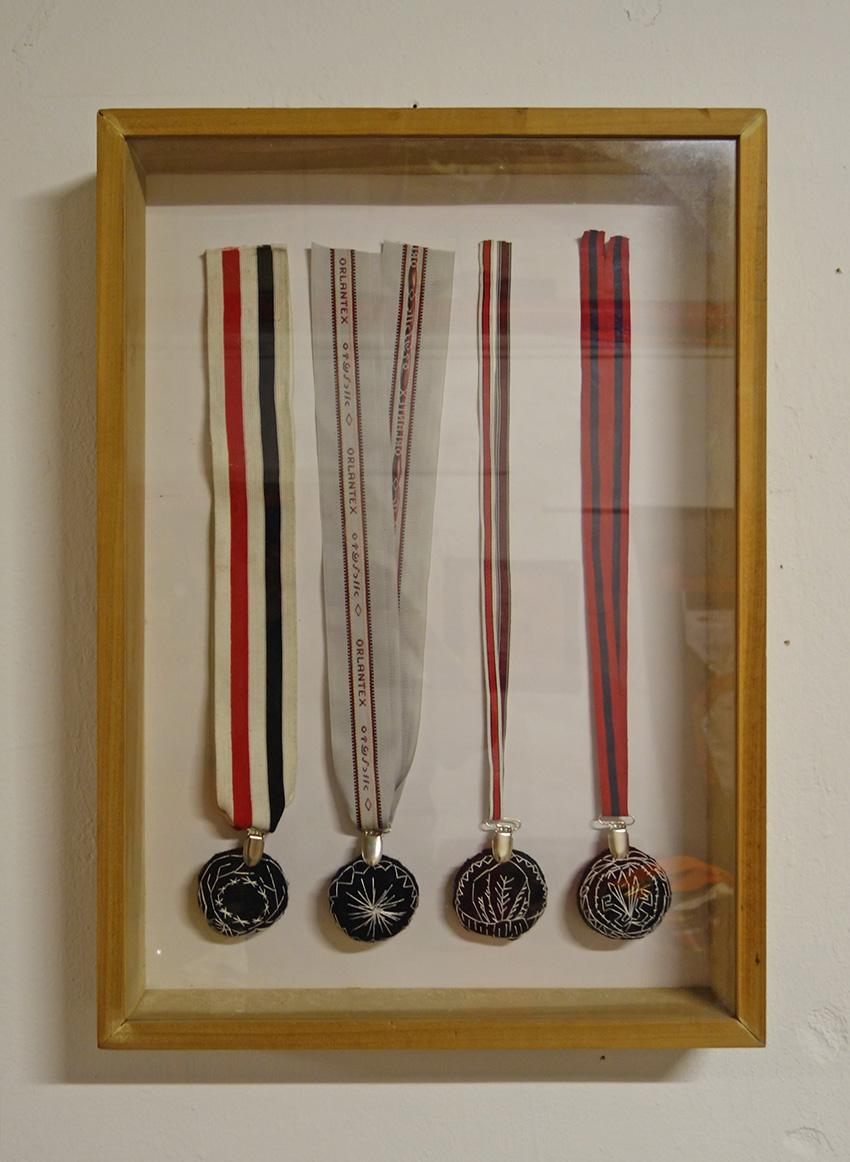 מדליות רקומות