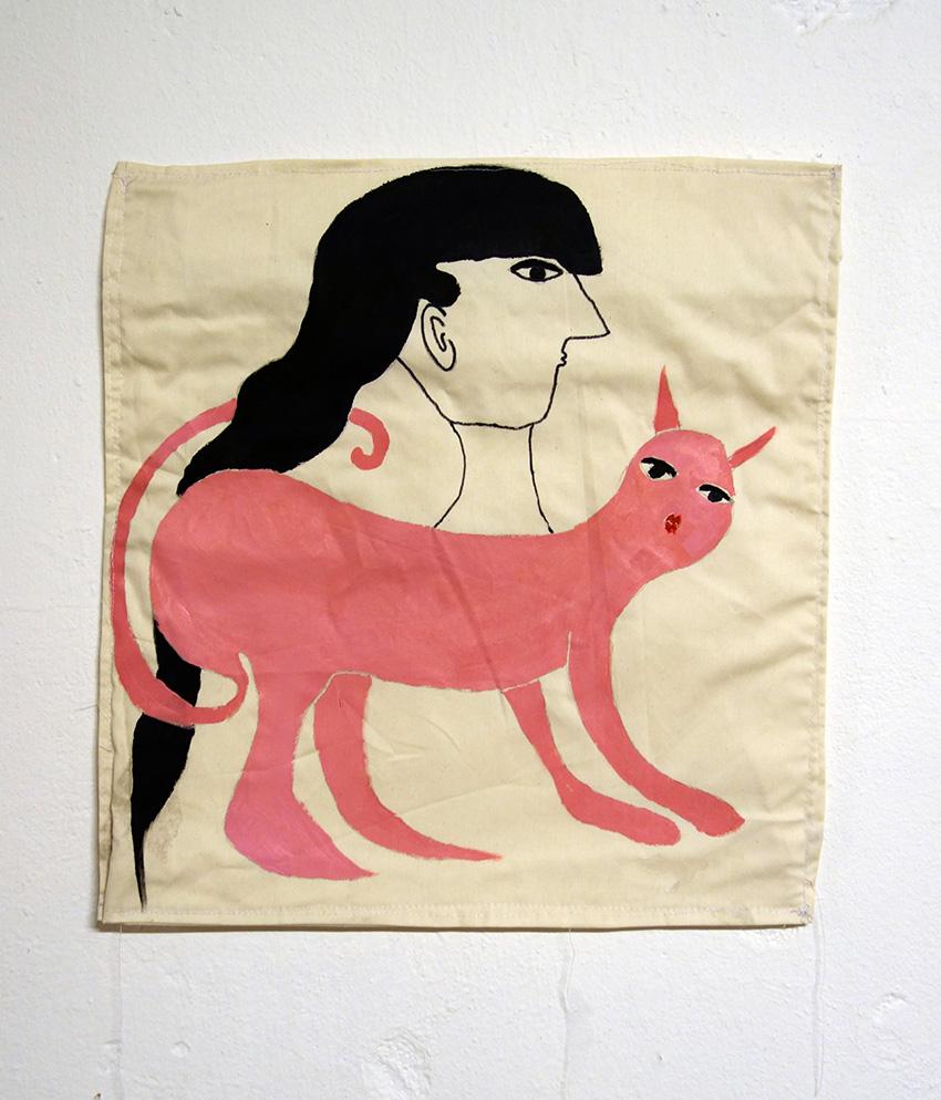 אשת חתול ורודה #1