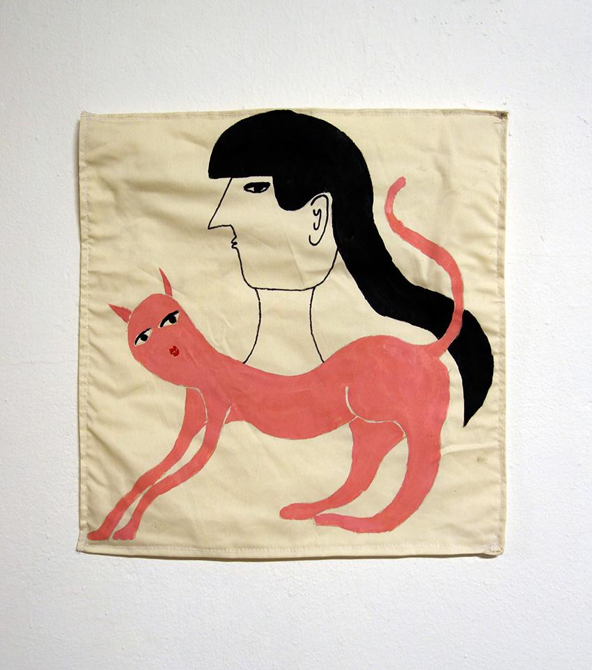 אשת חתול ורודה #2