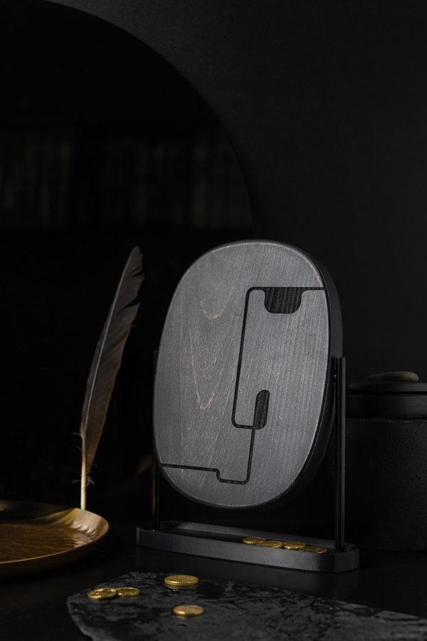 Mask Mirror Male Black