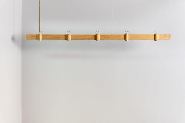 Wave Lamp T5 – Oak