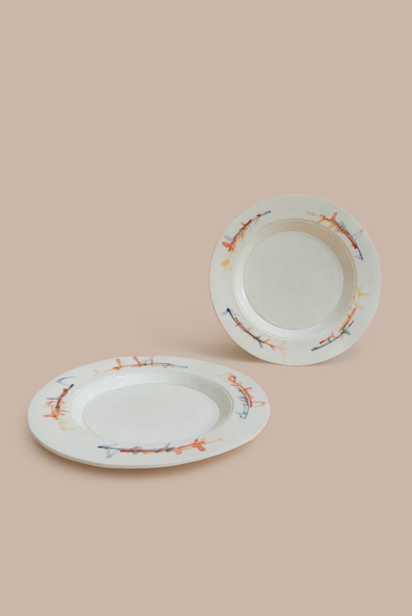 4 Industrial One-of Plates – CMY
