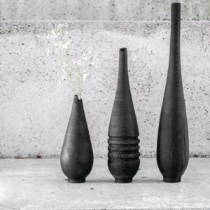 Burnt Vase L
