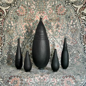 Burnt Vase XL #1 (with rings)