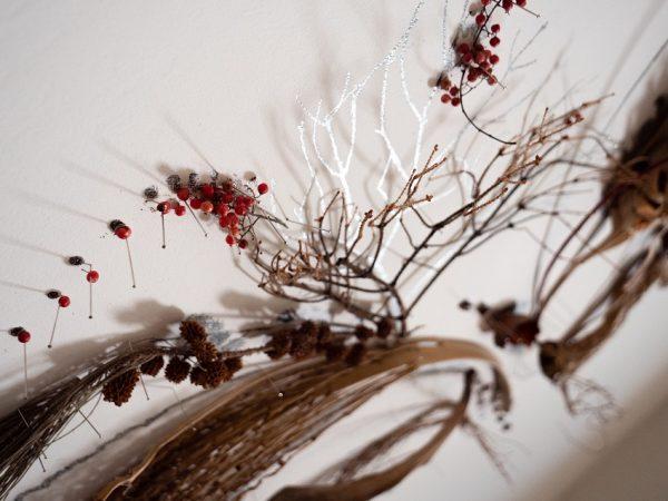 פרח קיר – דיפטיך – פרח כורכום