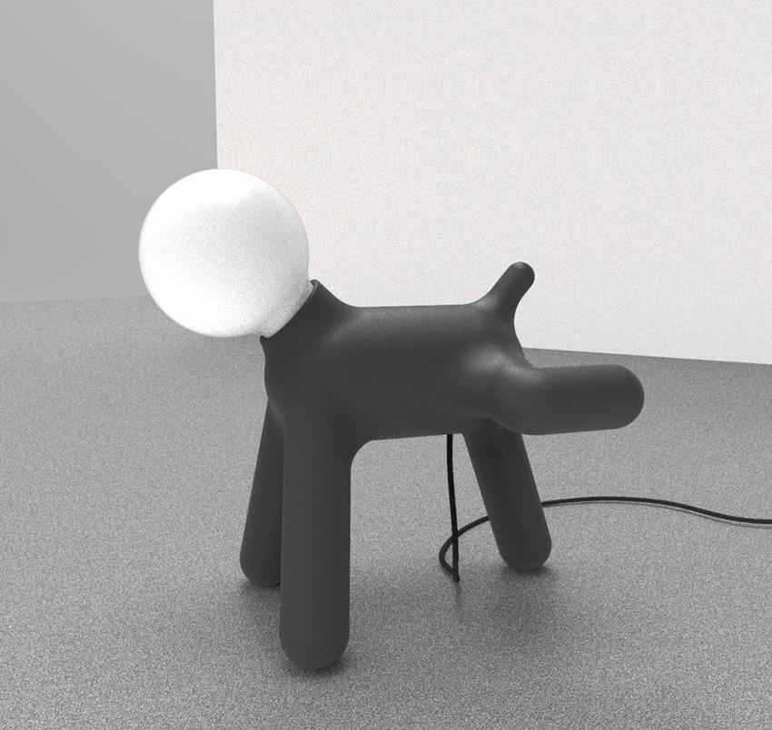 Naughty Dog Foggy Black