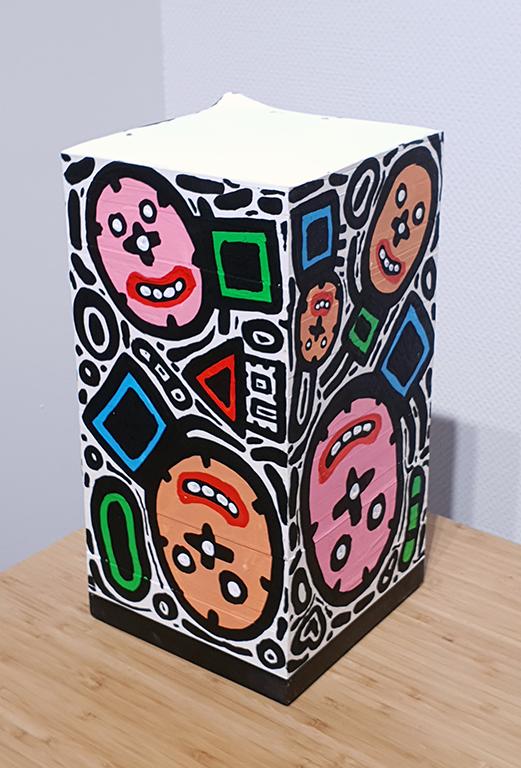 קובייה #1 פנים – תמיר שפר