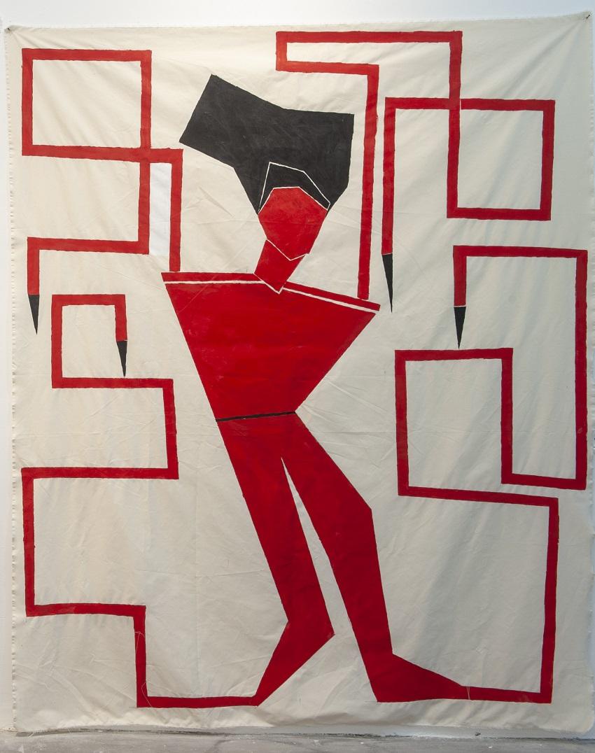 אישה אדומה #2