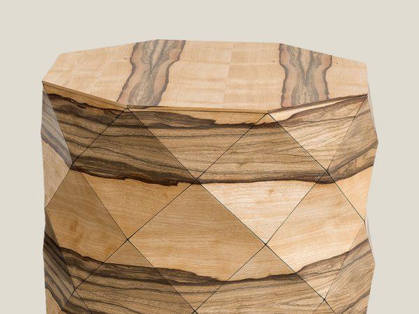 African Walnut Coffee Table