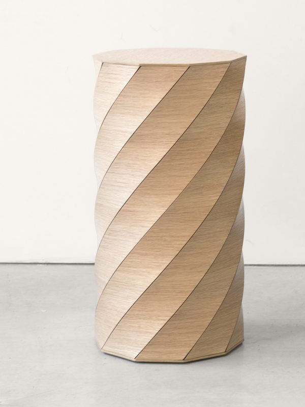 Twisted Table – Oak